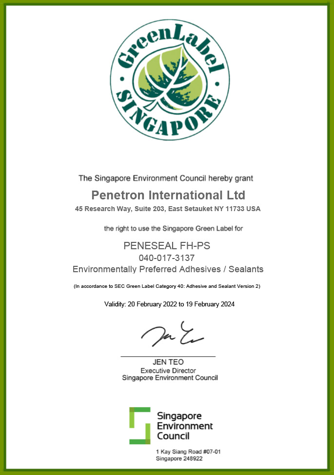 Singapore Green - PENESEAL FH-PS